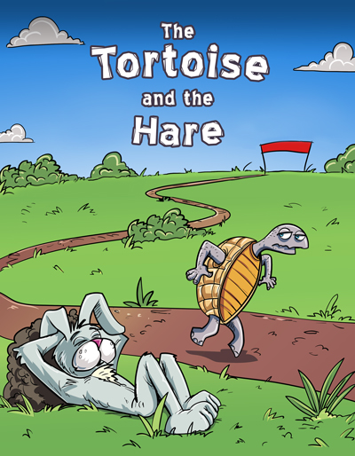 English The Tortoise And The Hare Worldstories